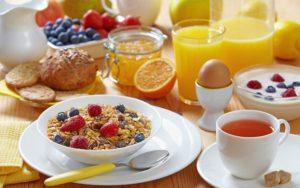 Завтраки (первый и второй)