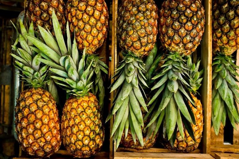 как ананас созревает дома